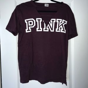 Purple PINK Victoria Secret t-shirt